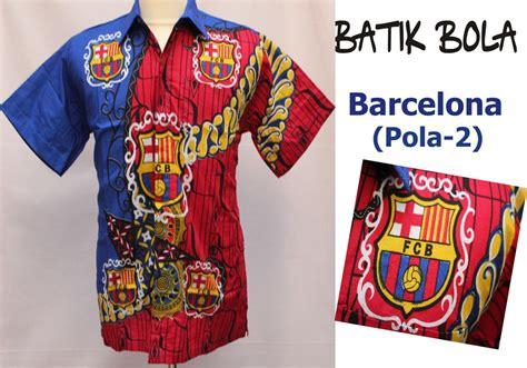 01 Messi Kemeja 100 gambar baju batik bola barca dengan kemeja batik bola barcelona bbb4593 baju batik
