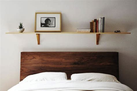 bedroom space saving in bedroom use bookcase headboard