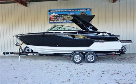 used monterey boats for sale in ohio 1990 monterey boats for sale in peninsula ohio