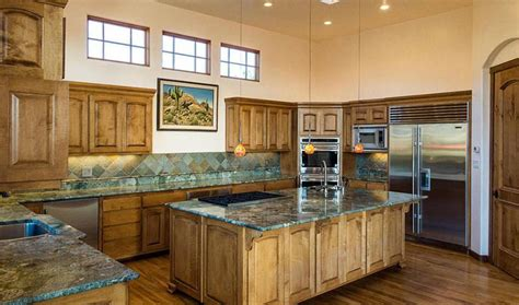 Kitchens With Green Countertops by Green Granite Countertops Colors Styles Designing Idea