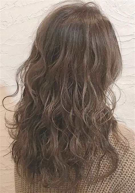 loose curl partial perm 11 best body wave perm images on pinterest curly hair