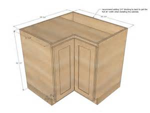 Standard Kitchen Corner Cabinet Sizes Corner Kitchen Cabinet Dimensions