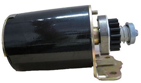 electric starter motor assembly fits briggs & stratton