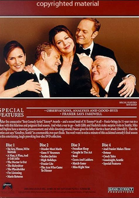 frasier the complete season dvd frasier the complete season dvd 2004 dvd empire