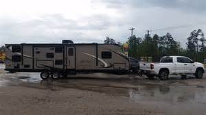 Truck Tires Towing Travel Trailer Just Got Back From Towing My New Cer Toyota