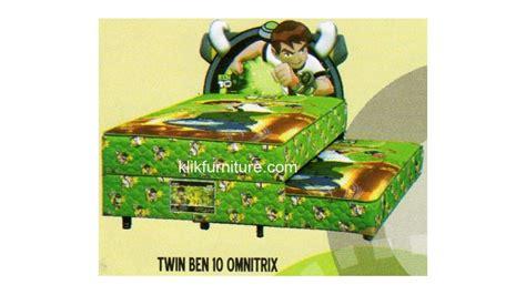 Bed Bigland Untuk Anak 2 in 1 ben 10 bed anak bigland sale promo