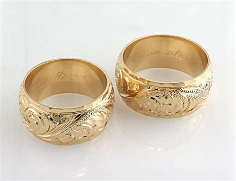 Wedding Bands With Names by Idea For Hawaiian Wedding Rings Criolla Brithday