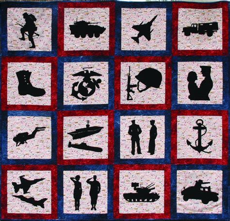 kit quilt silhouettes only all 21