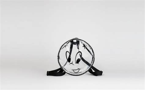 Robot Pin From Lazy Oaf by Lazy Oaf X Casper Backpack Fashion Item Bags