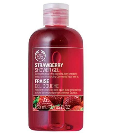 Shower Gel The Shop the shop strawberry shower gel 250ml buy the