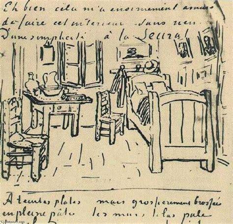 la chambre de vincent encre de vincent gogh 1853