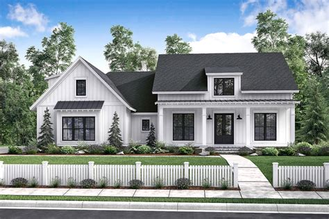 farmhouse style house plan 3 beds 2 00 baths 2077 sq ft