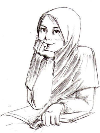 Jilbab Kartun Story Dini Ismawati S World