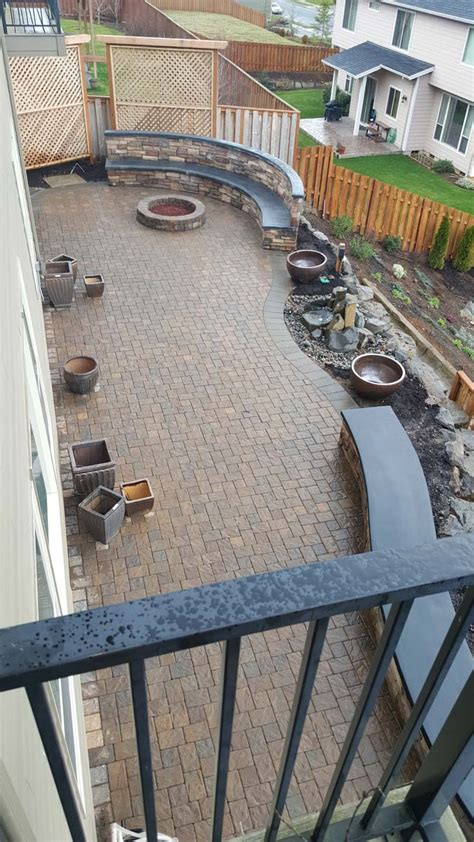 Patio Pavers Filler Paver Patios Design Installation Vancouver Wa