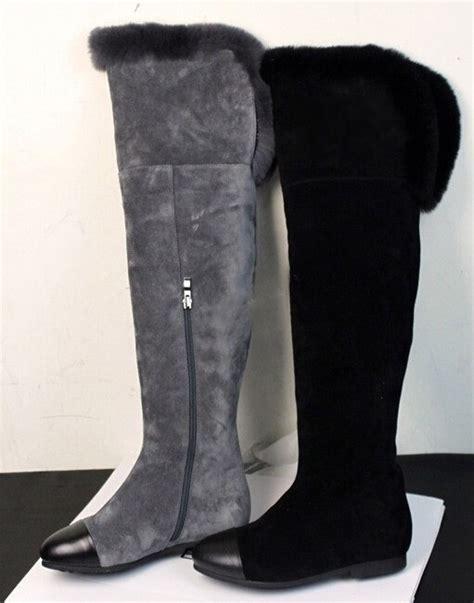 get cheap grey knee high boots aliexpress