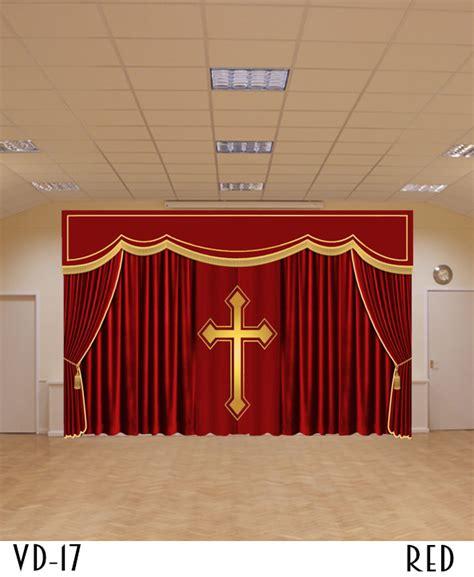 church curtains and drapes church drapes and backdrop