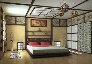 Oriental interior decorating ideas white and red color combination