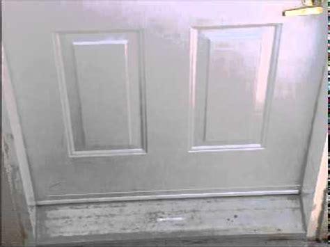 how to install weatherstripping wrap around vinyl door