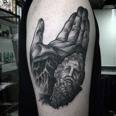 dark tattoo designs for men 80 zeus designs for a thunderbolt of ideas