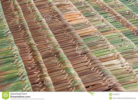 Palm Thatch Roof Palm Thatch Roofs Stock Photos Image 34103373