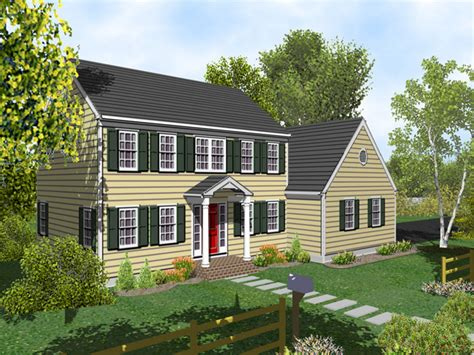 House Plans Colonial by Two Story Colonial House Plans House Design Plans