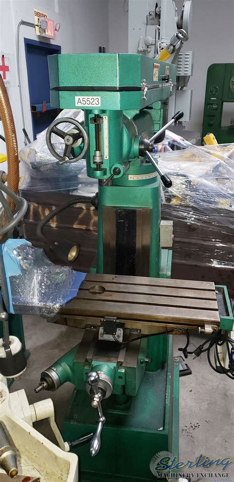 grizzly woodmetal vertical milling machine sterling