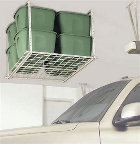 Ceiling Storage Rack by Overhead Ceiling Storage Rack Great For Garages Sheds