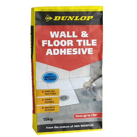 Tile Adhesive Dunlop 15kg Wall And Floor Tile Adhesive Bunnings Warehouse