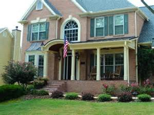 1000 images about brick house front porch on pinterest gardens traditional and home