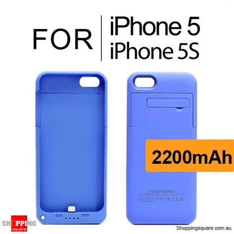 Power Bank Iphone 5s 2200mah battery power bank charger for iphone 5s 5 blue colour shopping shopping
