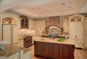 Colonial Kitchen Cabinets by French Inspired Kitchen Colonial Craft Kitchens Inc