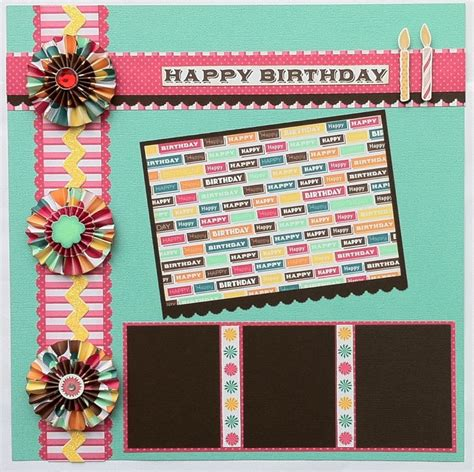 scrapbook layout ideas for birthday best 13 awesome scrapbook cover page designs enhance