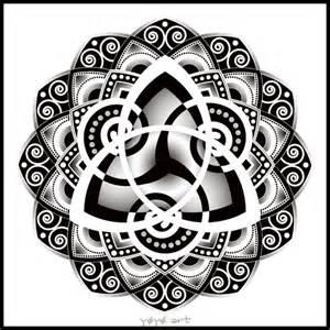 celtic mandala black and white celtic mandala tattoos