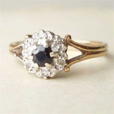 sapphire engagement ring gold gold rings