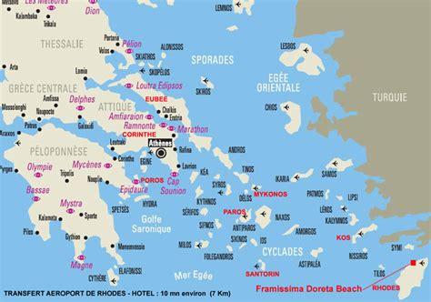 Infos sur : les iles grecques carte   Arts et Voyages