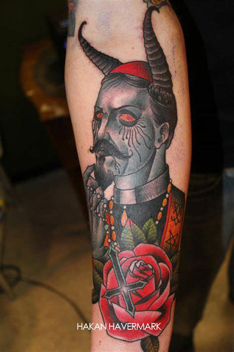 old cross tattoos 60 wonderful satan tattoos ideas golfian