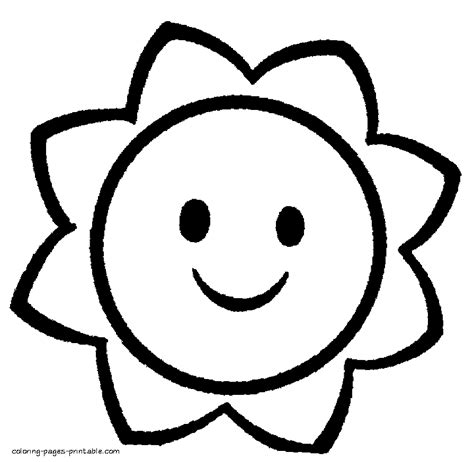 Simple Coloring Pages For Preschoolers free printable coloring pages for kindergarten simple