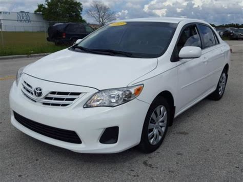 used toyota corolla for sale by owner 2013 toyota corolla for sale by owner in fl 33084