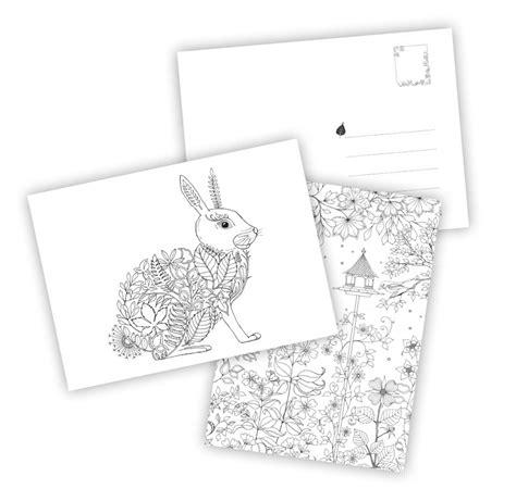mein sommerspaziergang ausmalen und 3404609298 mein zauberwald postkartenbuch mit 20 herausnehmbaren postkarten knesebeck verlag