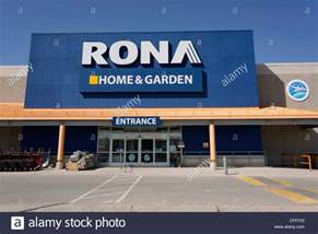 home improvement outlet rona home improvement store ontario canada stock photo