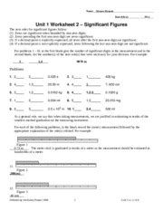 Ap Physics Sig Figs And Units Worksheet Answers