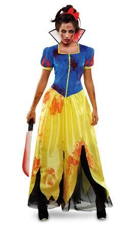 imagenes de zombies originales disfraz blancanieves zombie mujer tallas m l