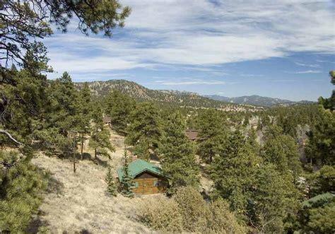 estes park colorado braeside cabin