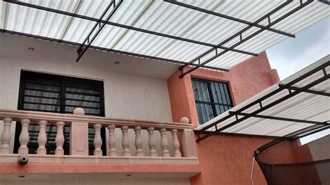 para patio techos de lamina tejados para patio morelia