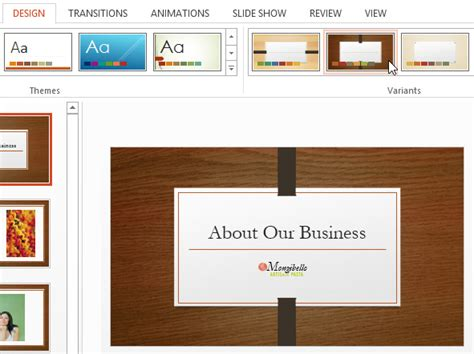 definition theme microsoft powerpoint powerpoint 2013 applying themes