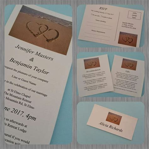 Dl Wedding Invite Templates by Diy Printable Sand Wedding Engagement Event