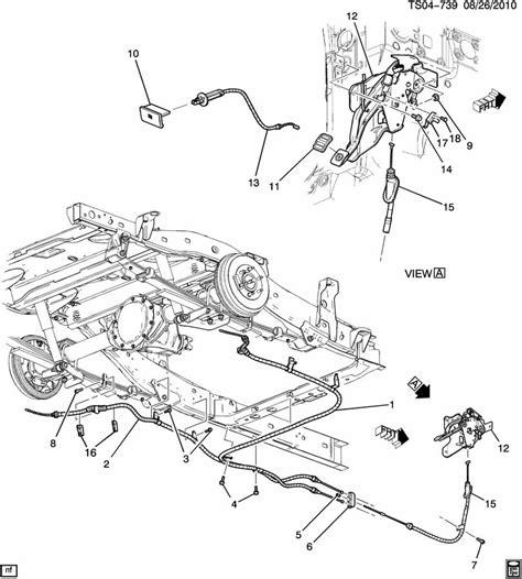 online service manuals 2010 chevrolet colorado parking system 2010 chevrolet colorado parking brake system