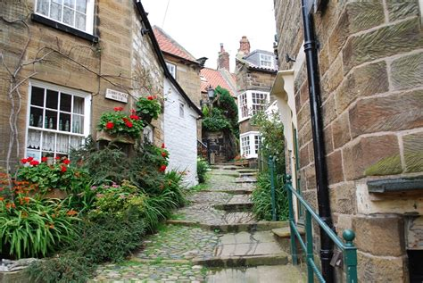 robin hoods bay cottages travelmag a bit of that s falling into the sea