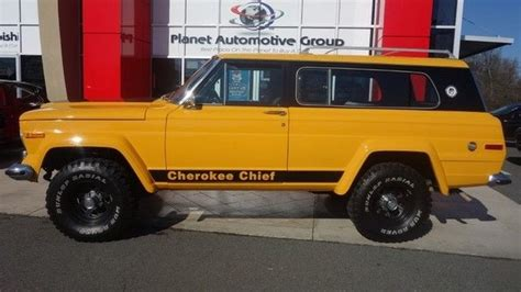Jeep Chief For Sale 1977 Jeep Chief V8 For Sale