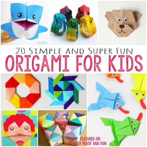 Easy Origami For Preschoolers - 25 best ideas about easy origami on origami